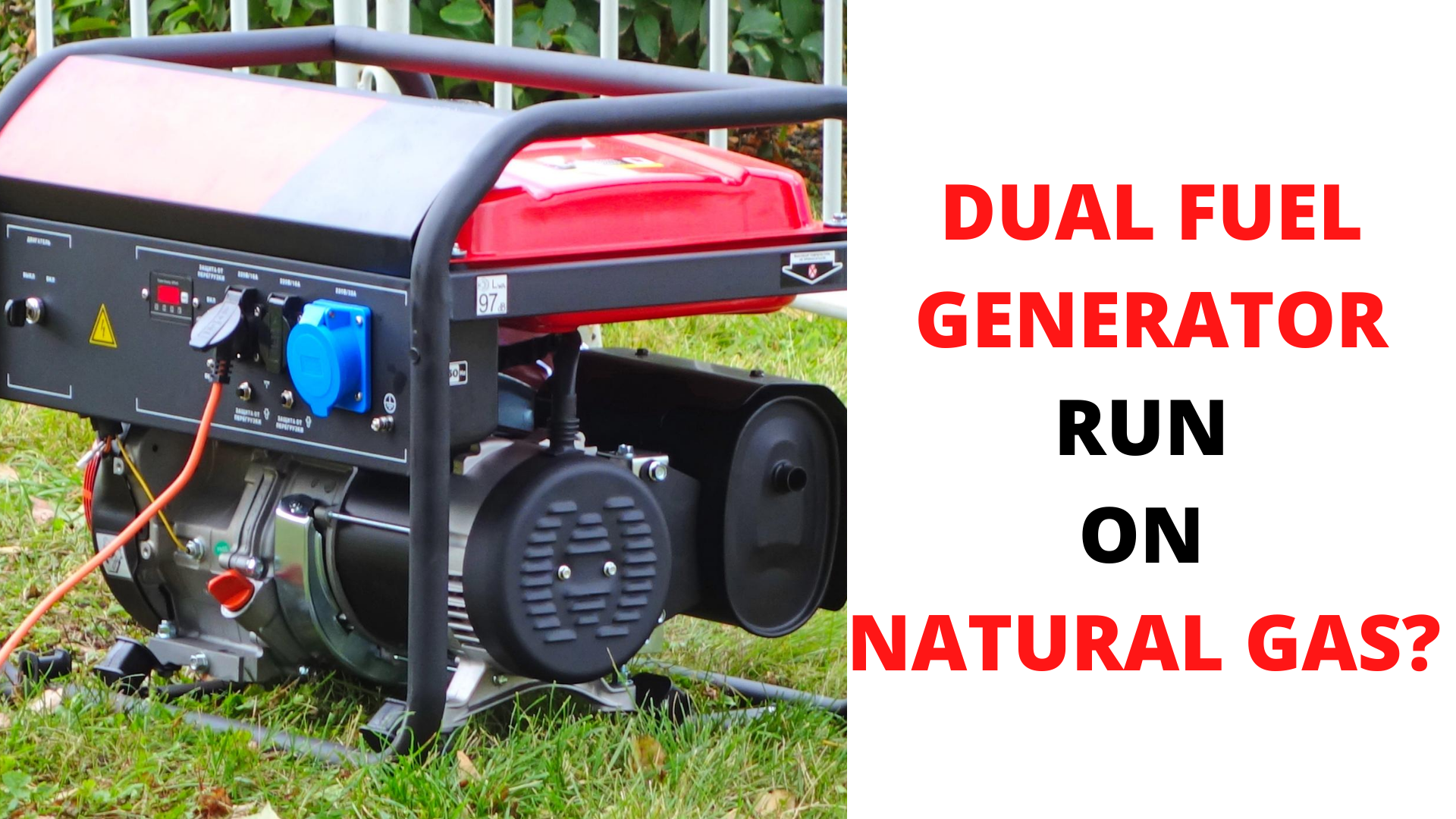 are there generators that run on natural gas