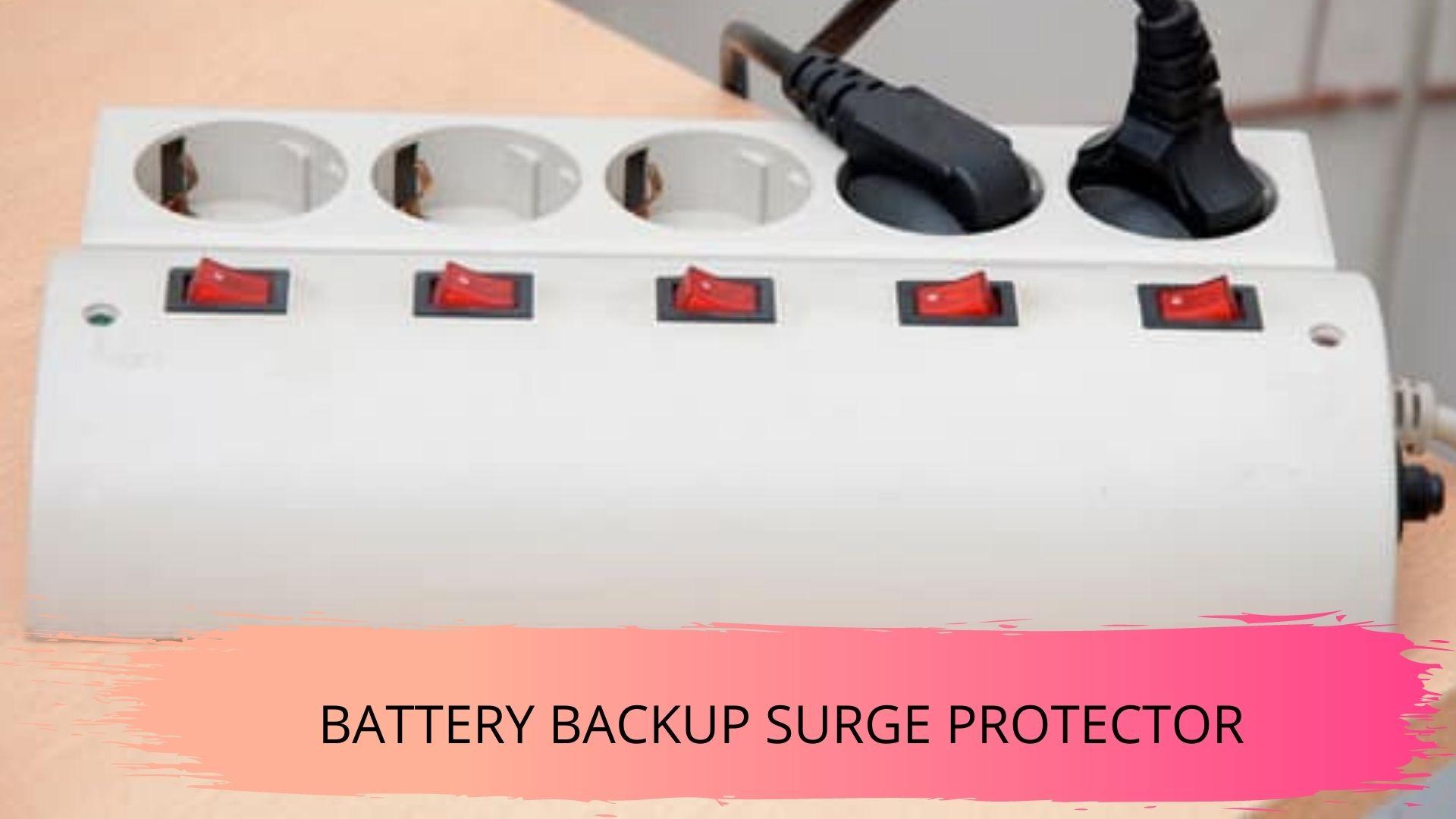 how long do battery backup surge protectors last