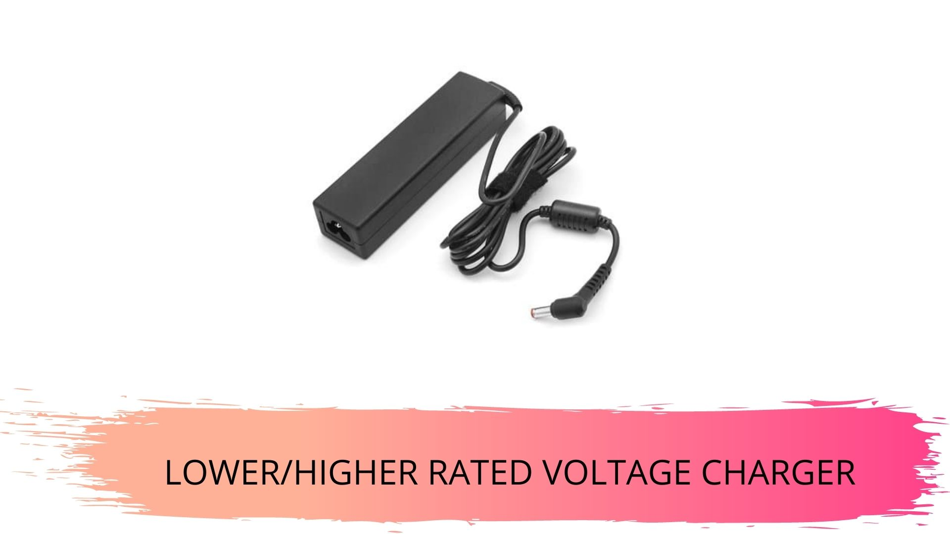 using lower/higher rated voltage charger