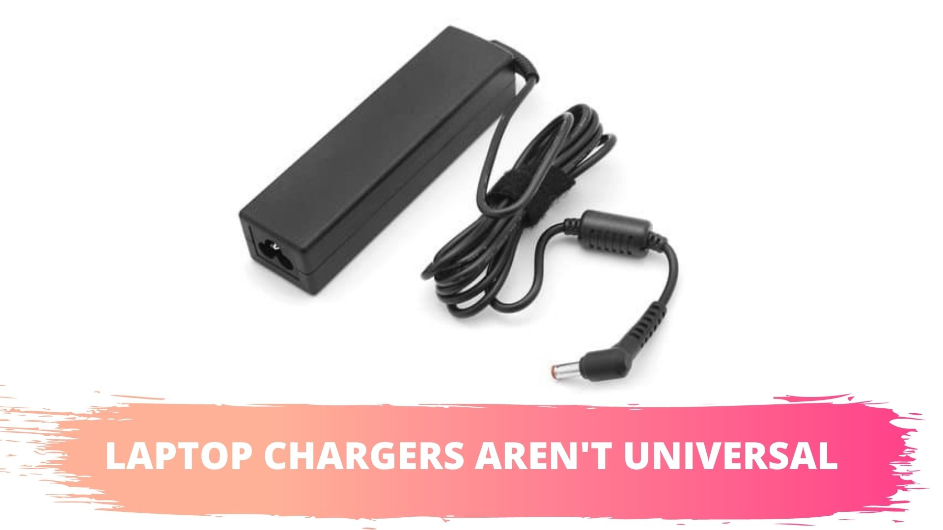 hp laptop chargers aren't universal