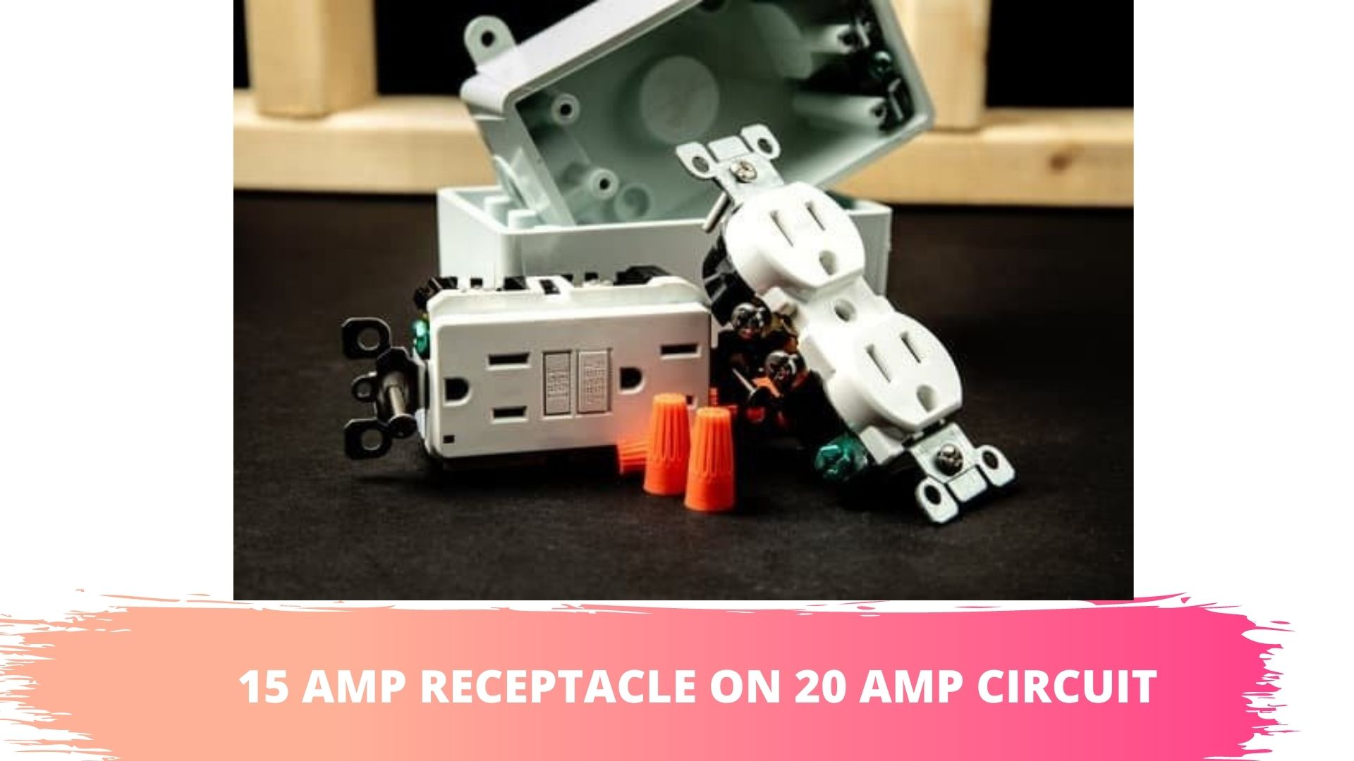 can you put a 15 amp receptacle on a 20 amp circuit