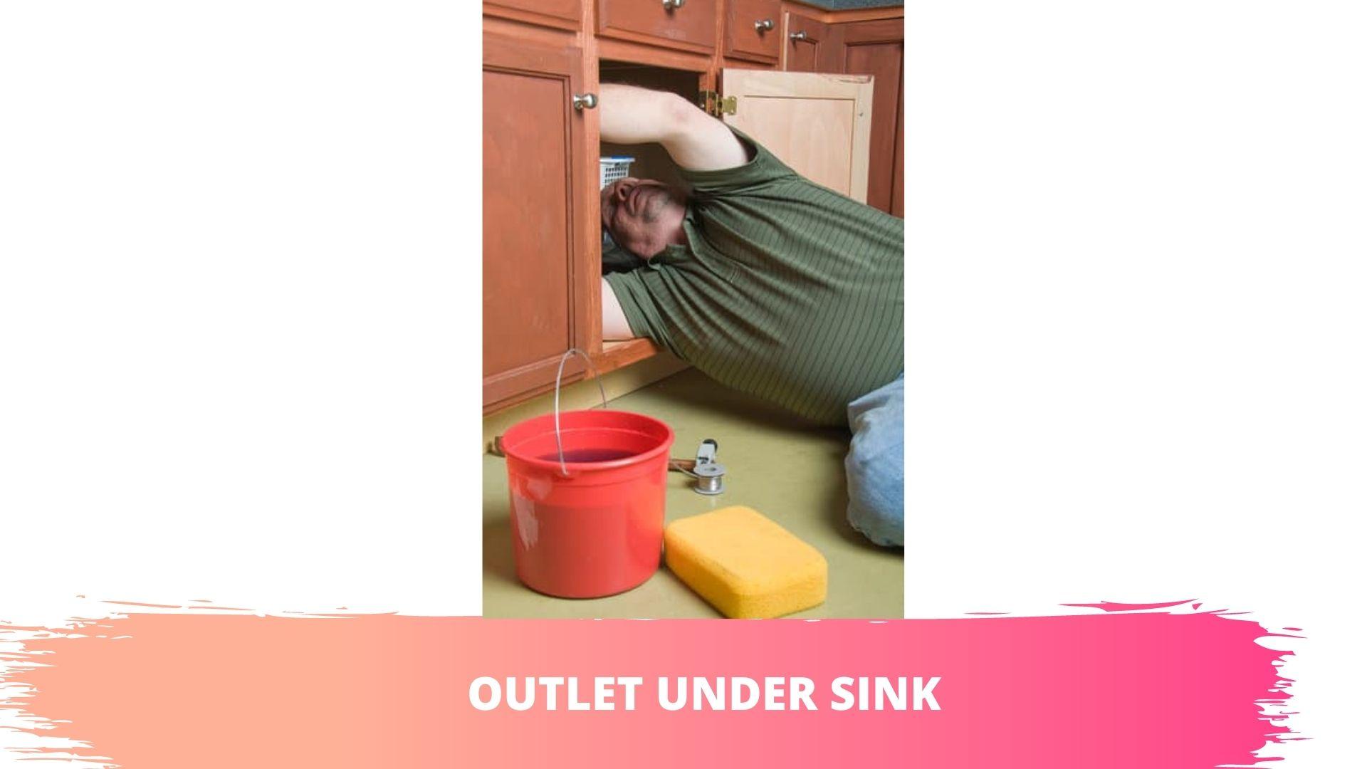 outlet under sink for dishwasher