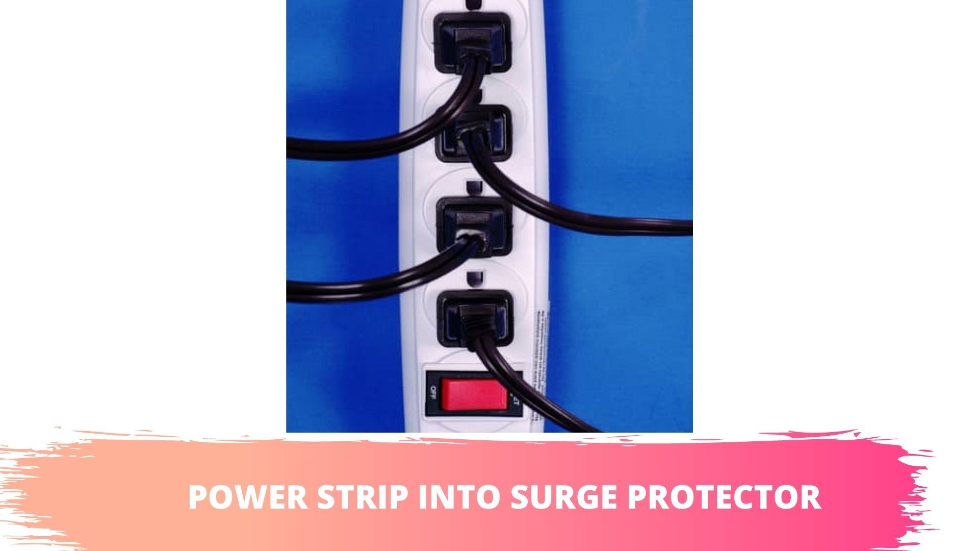 power strip surge protectors