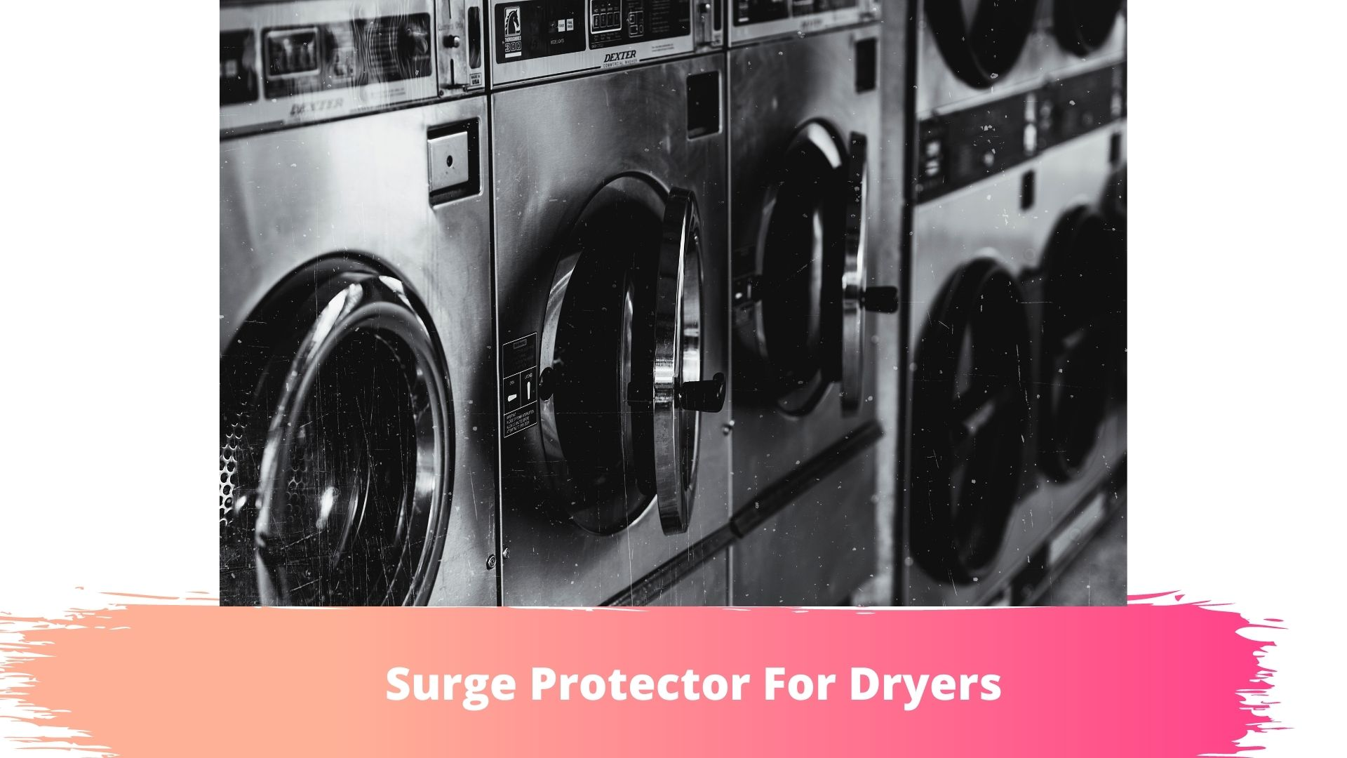 does a dryer need a surge protector