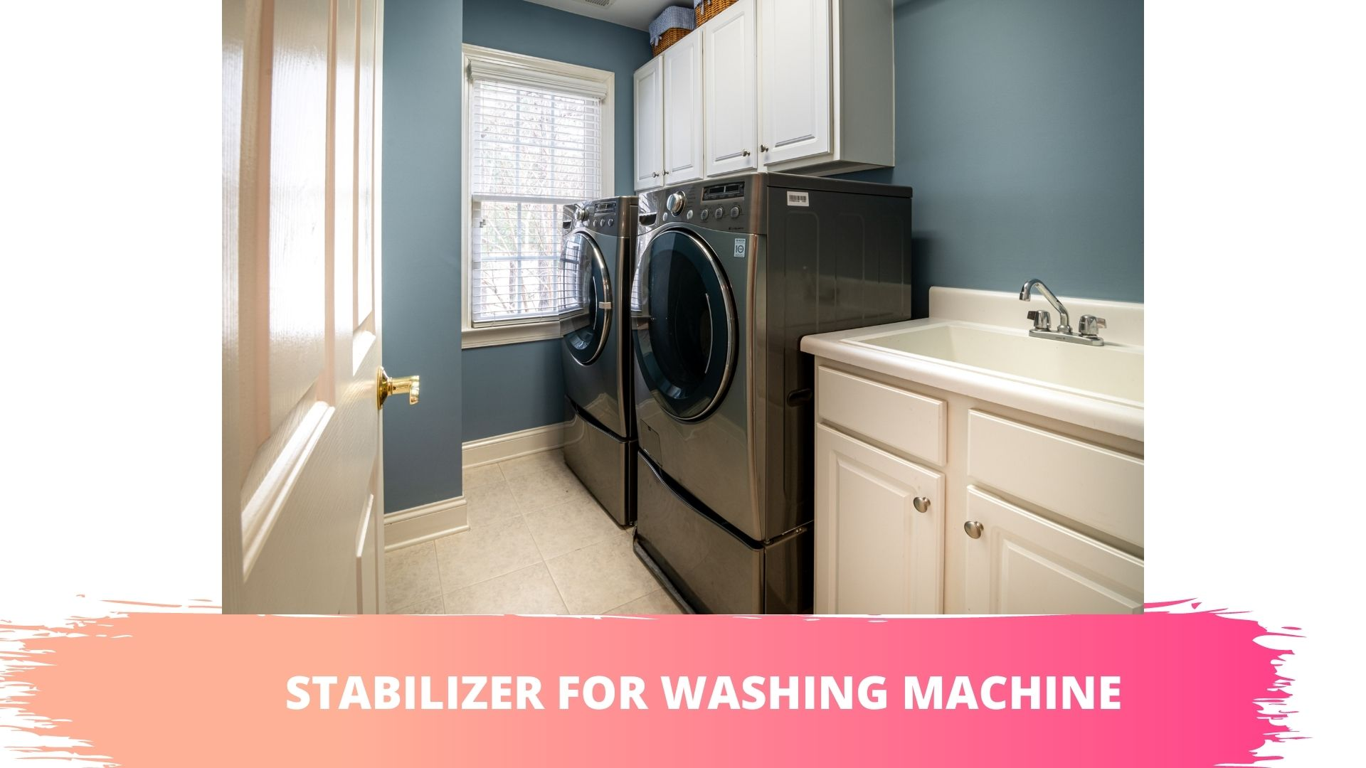washing machine stabilizer