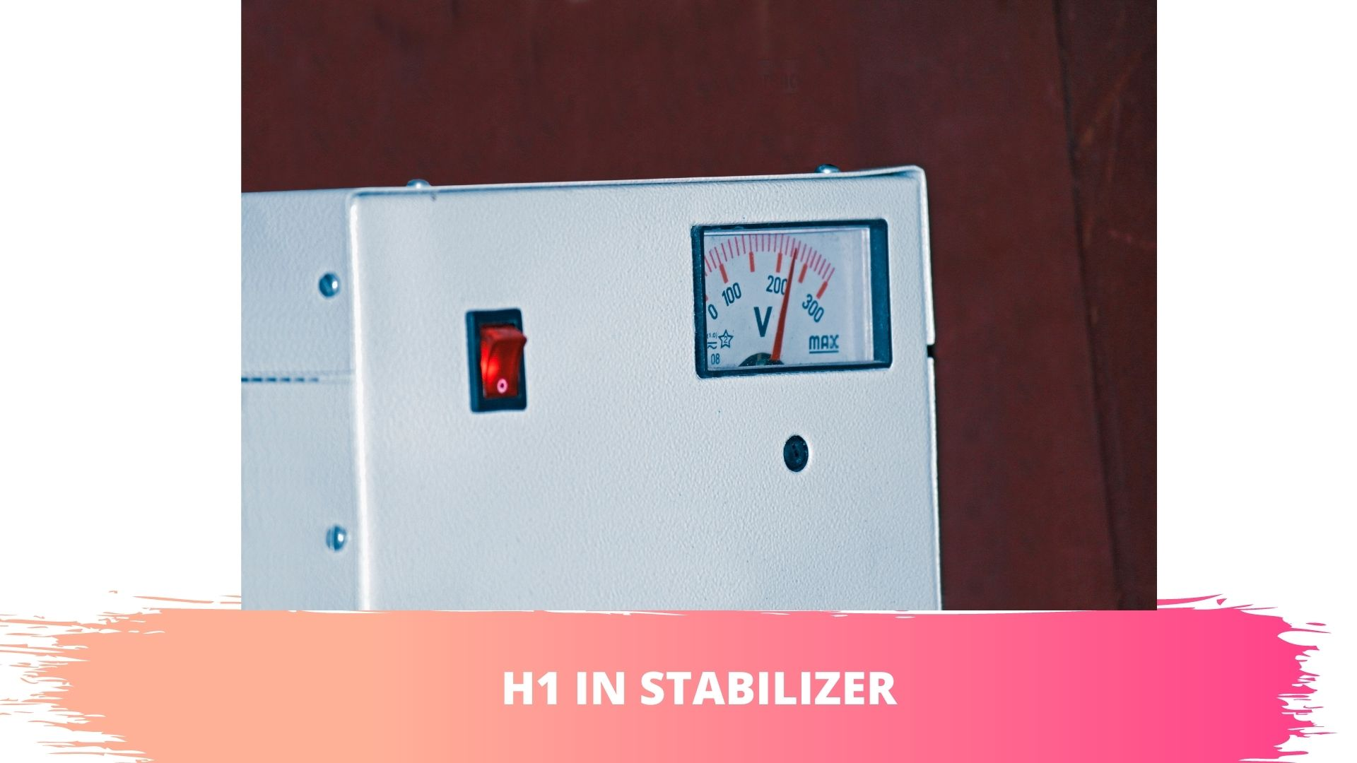 h1 in stabilizer