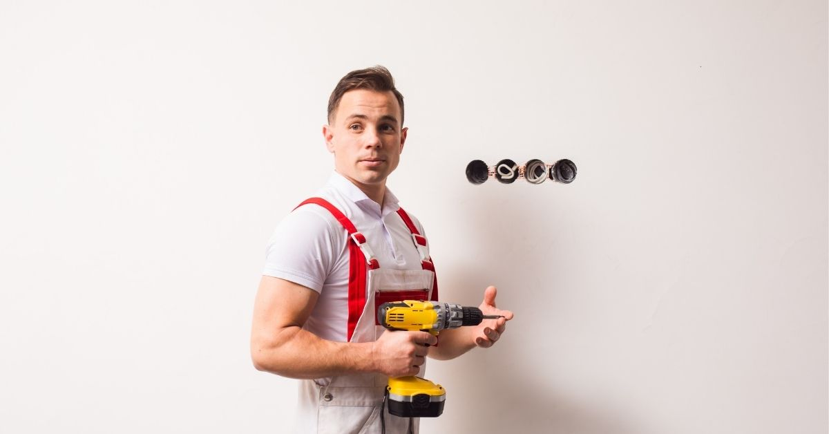 hot electrician image
