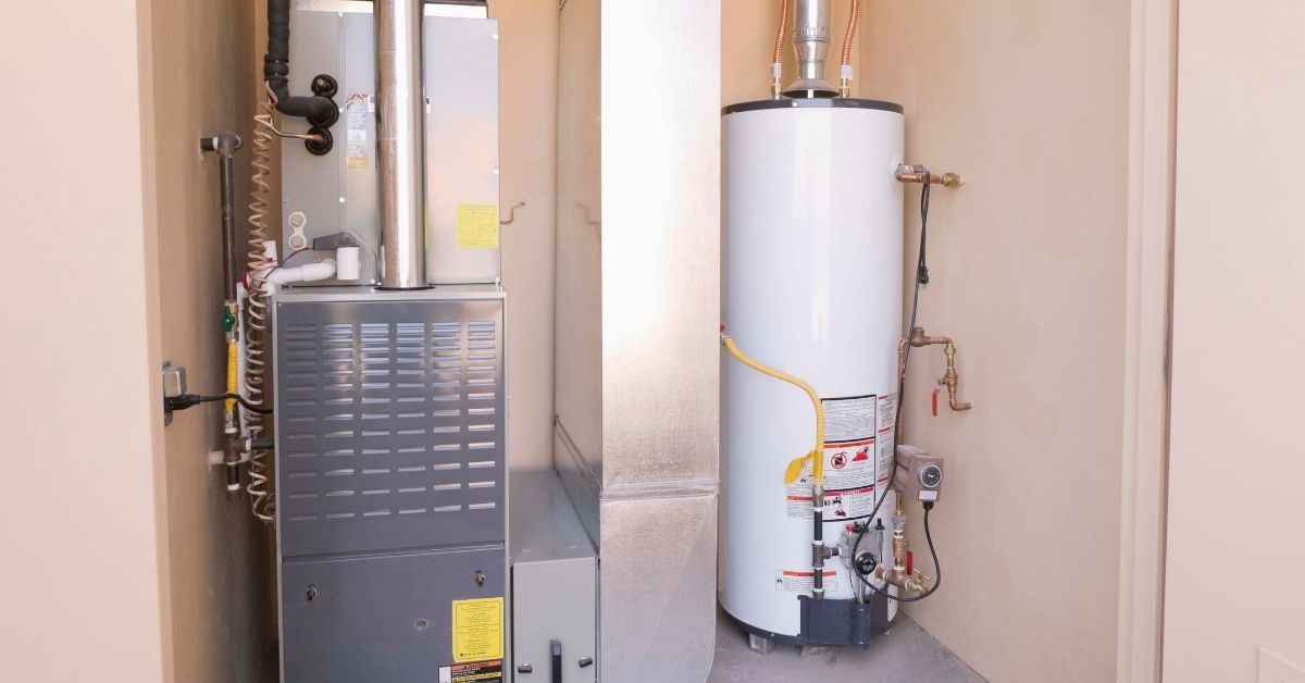 water heater light